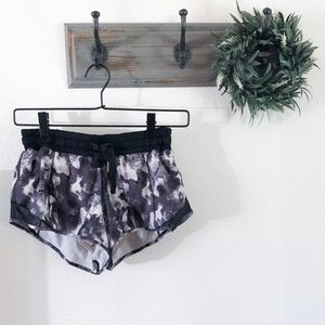 Lululemon Black Tie Dye Running Shorts 6